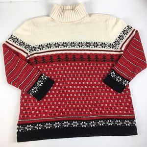 Vtg RUSS by Liz Claiborne Holiday Sweater XL